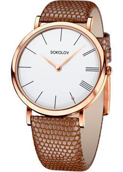 fashion наручные  женские часы Sokolov 204.01.00.000.01.03.2. Коллекция Harmony