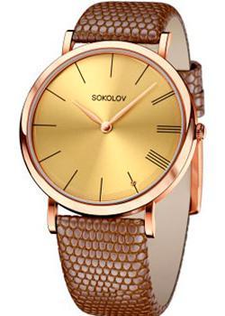 fashion наручные  женские часы Sokolov 204.01.00.000.03.03.2. Коллекция Harmony