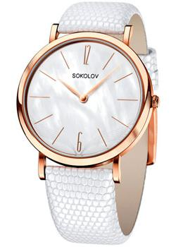 fashion наручные  женские часы Sokolov 204.01.00.000.06.02.2. Коллекция Harmony