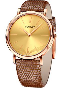 fashion наручные  женские часы Sokolov 204.01.00.000.07.03.2. Коллекция Harmony