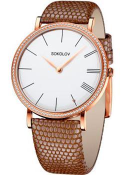 fashion наручные  женские часы Sokolov 210.01.00.001.01.03.2. Коллекция Harmony
