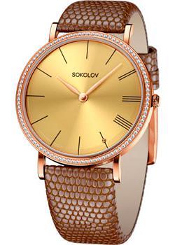 fashion наручные  женские часы Sokolov 210.01.00.001.03.03.2. Коллекция Harmony
