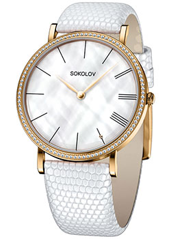 fashion наручные женские часы Sokolov 210.02.00.001.02.02.2. Коллекция Harmony