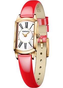 fashion наручные  женские часы Sokolov 221.02.00.000.01.07.3. Коллекция Magic.