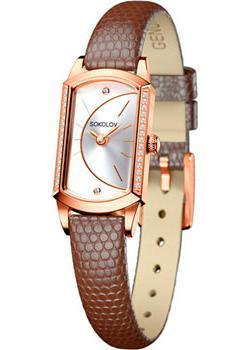 fashion наручные  женские часы Sokolov 222.01.00.001.04.03.3. Коллекция Magic