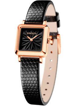 fashion наручные  женские часы Sokolov 231.01.00.000.04.01.2. Коллекция Diva