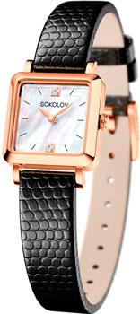 fashion наручные  женские часы Sokolov 231.01.00.000.05.01.2. Коллекция Diva