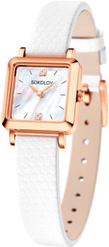 fashion наручные  женские часы Sokolov 231.01.00.000.05.02.2. Коллекция Diva