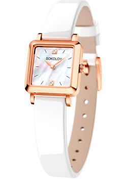 fashion наручные  женские часы Sokolov 231.01.00.000.05.05.2. Коллекция Diva