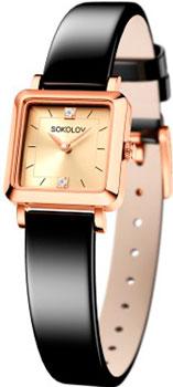 fashion наручные  женские часы Sokolov 231.01.00.000.06.04.2. Коллекция Diva