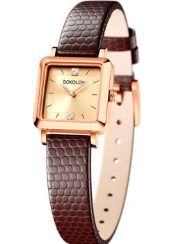fashion наручные  женские часы Sokolov 231.01.00.000.06.07.2. Коллекция Diva