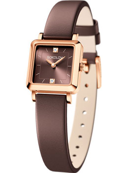 fashion наручные  женские часы Sokolov 231.01.00.000.08.08.2. Коллекция Diva