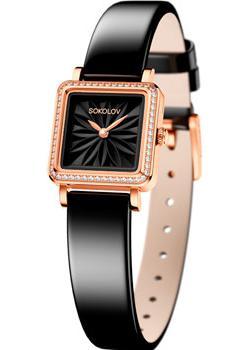 fashion наручные  женские часы Sokolov 232.01.00.001.04.04.2. Коллекция Diva