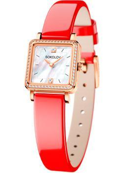 fashion наручные  женские часы Sokolov 232.01.00.001.05.06.2. Коллекция Diva