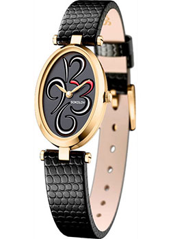 fashion наручные  женские часы Sokolov 235.02.00.000.04.01.2. Коллекция Allure.