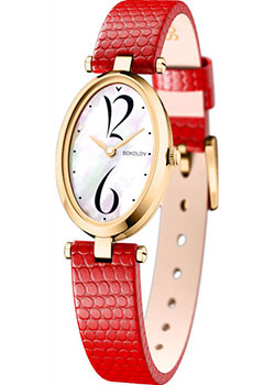 fashion наручные  женские часы Sokolov 235.02.00.000.05.03.2. Коллекция Allure.