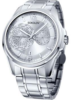 fashion наручные  мужские часы Sokolov 340.71.00.000.01.01.3. Коллекция My World
