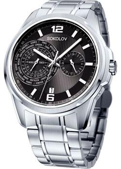 fashion наручные  мужские часы Sokolov 340.71.00.000.02.01.3. Коллекция My World