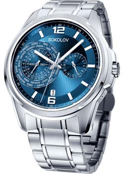 fashion наручные  мужские часы Sokolov 340.71.00.000.03.01.3. Коллекция My World