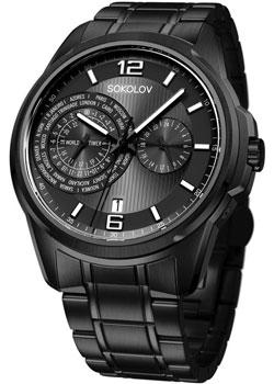 fashion наручные  мужские часы Sokolov 340.72.00.000.07.03.3. Коллекция My World