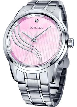 fashion наручные  женские часы Sokolov 342.71.00.000.02.01.2. Коллекция My World