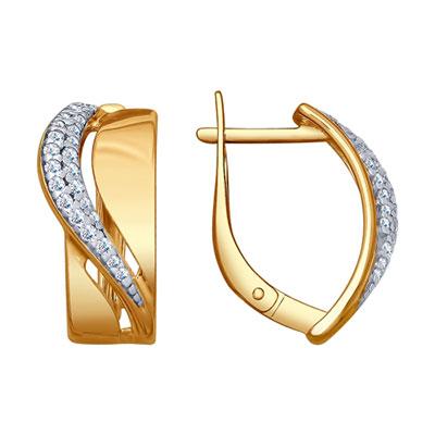 Серебряные серьги  93020811