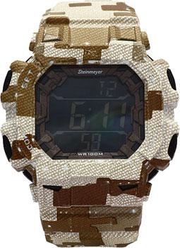 Наручные  мужские часы Steinmeyer S522.16.51. Коллекци Extreme fishing