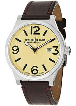 мужские часы Stuhrling Original 454.3315K15. Коллекци Aviator