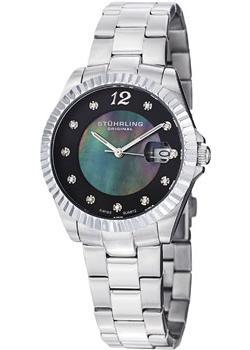 женские часы Stuhrling Original 498.111127. Коллекция Lady Clipper Pearl