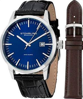 мужские часы Stuhrling Original 555A.04.SET. Коллекци Ascot II