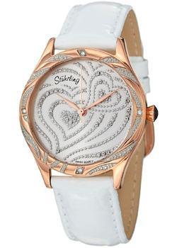 женские часы Stuhrling Original 582.2245P2. Коллекция Amour