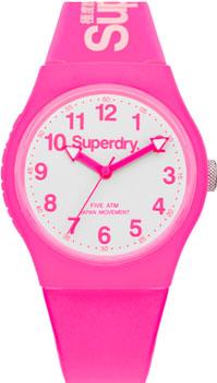 fashion наручные  женские часы Superdry SYG164PW. Коллекция Urban