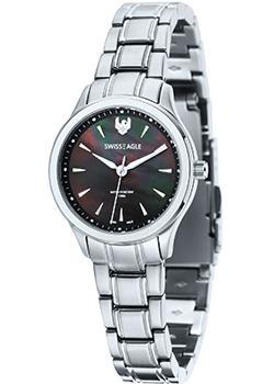 Швейцарские наручные  женские часы Swiss Eagle SE-6047-11. Коллекция Akilina lady