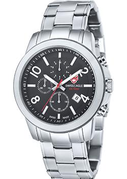 Швейцарские наручные  мужские часы Swiss Eagle SE-9054-11. Коллекция Weisshorn