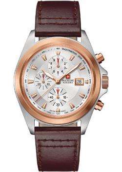 Швейцарские наручные  мужские часы Swiss military hanowa 06-4202.1.12.001. Коллекция Infantry Chrono