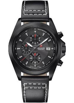 Швейцарские наручные  мужские часы Swiss military hanowa 06-4202.1.30.030. Коллекция Infantry Chrono