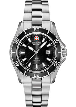 Швейцарские наручные  женские часы Swiss military hanowa 06-7296.04.007. Коллекция Nautila