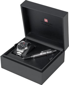 Швейцарские наручные мужские часы Swiss military hanowa 06-8010.04.007. Коллекция Challenge Line