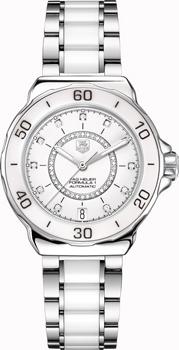 Швейцарские наручные  женские часы TAG Heuer WAU2211.BA0861