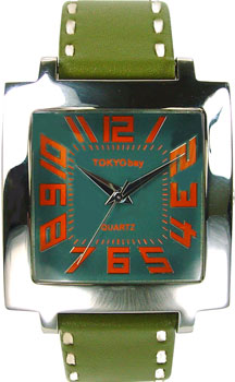 fashion наручные  мужские часы TOKYObay T105-GR. Коллекци Tram