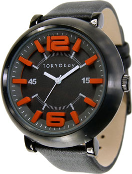 fashion наручные  мужские часы TOKYObay T632-BK. Коллекци Arena