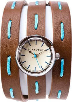fashion наручные  женские часы TOKYObay T7322-BR. Коллекция Frida