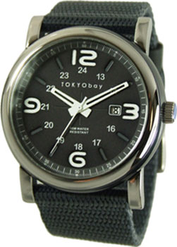 fashion наручные мужские часы TOKYObay TM1045-GY. Коллекция Military