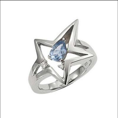 Серебряное кольцо  T22037ZT