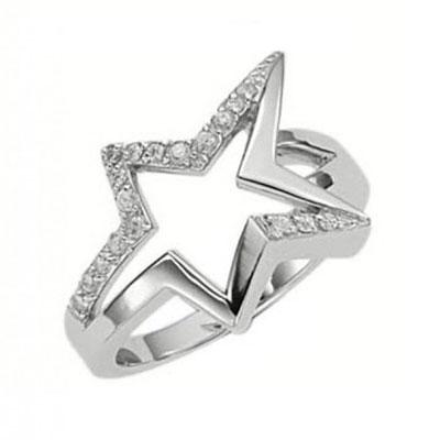 Серебряное кольцо  T22102Z