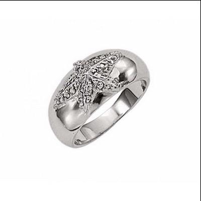 Серебряное кольцо  T22134