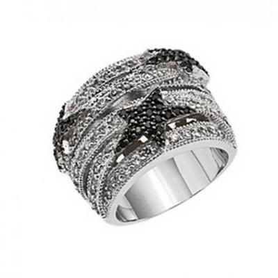 Серебряное кольцо  T22138ZN