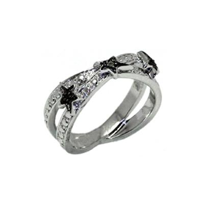 Серебряное кольцо  T22154N