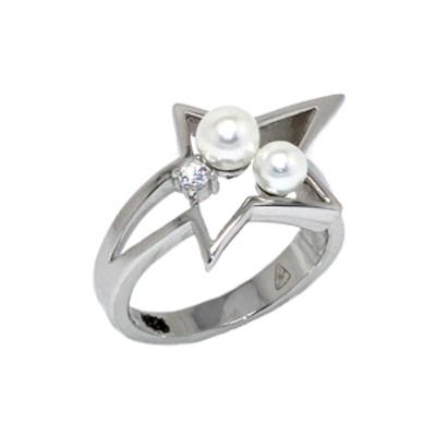 Серебряное кольцо  T22159ZW
