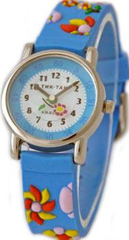 мужские часы Tik-Tak H101-2-golubye-cvety. Коллекция Тик-Так